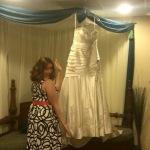 Hanging up my dress