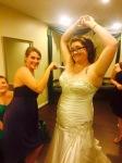 Bridesmaids go the extra mile