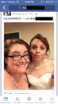 First selfie as wives!  Check out all the likes!