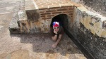 Erin's hiding spot...